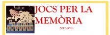 Cartell jocs per la memòria