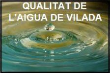 Qualitat de l'aigua de la xarxa municipal d'aigua, de la piscina i de l'embassament de la Baells