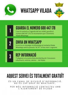 Cartell WhatsApp